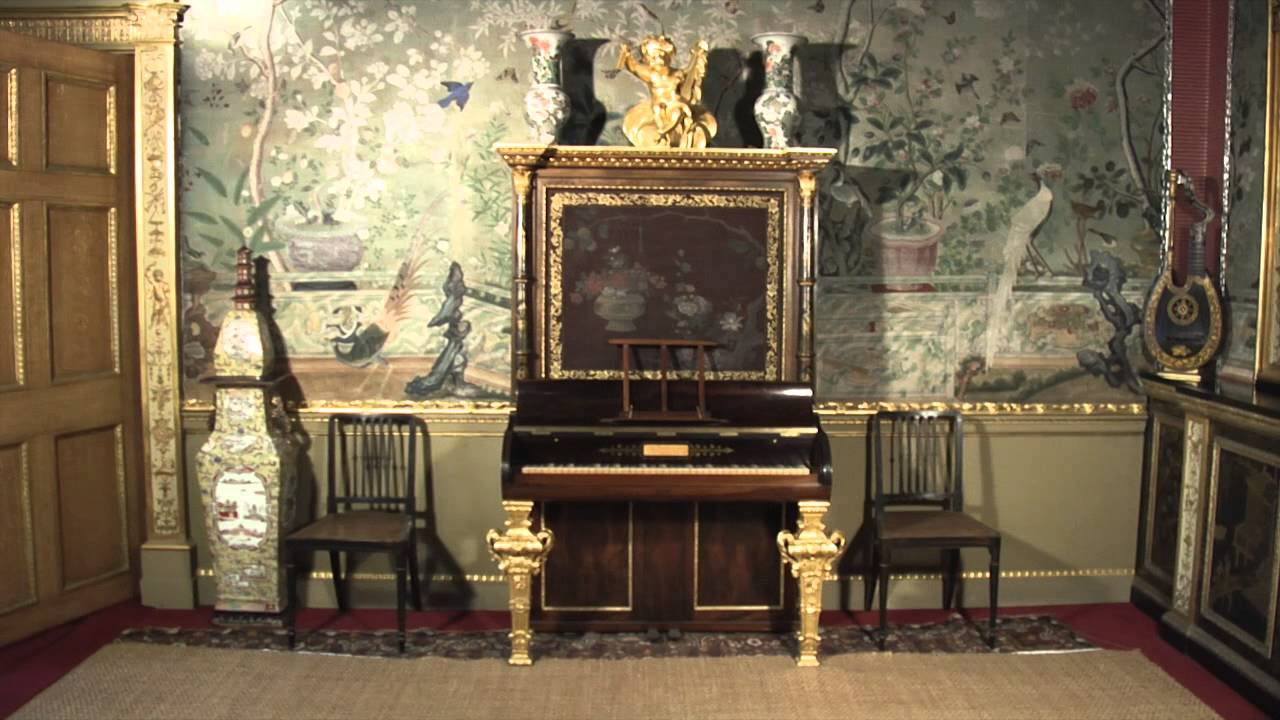The Chinese Drawing Room At Temple Newsam House Youtube