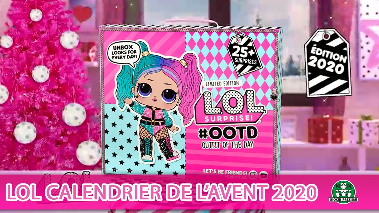 L.O.L Surprise / Calendrier de l'avent 2020 / Pub TV / Giochi France