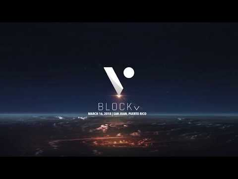 BlockV's CEO Reeve Collins at Blockchain Unbound