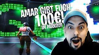 100€ für euch in meinem Parkour zu gewinnen | Amar