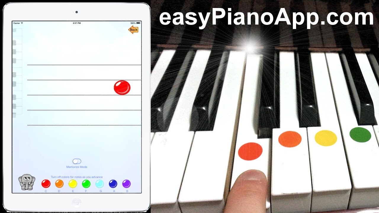 How to Play Piano with Easy Piano App for iPhone and iPad ...