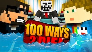 Minecraft 100 WAYS TO DIE CHALLENGE A MASSIVE WAVE