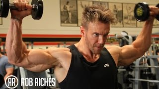 Rear Deltoids & Rotator Cuffs - Rob Riches