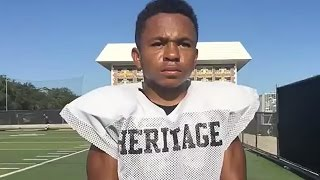 "4'5"", 95-Pound Running Back is Incredible"