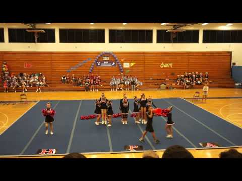 Hawaii Preparatory Academy (HPA) Cheerleaders BIIF Championships 2015