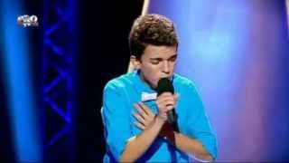 Laurian Manta - Je suis malade - blind auditions