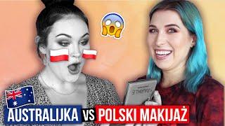 ♦ Australijka testuje POLSKIE KOSMETYKI Cały makijaż polskimi markami! ♦ Agnieszka Grzelak Beauty