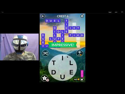 WORDSCAPES CREST LEVELS 1 - 16 ANSWERS (MOUNTAIN)