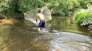Serpme İle Balık avı Tuttuğumuz Balıkları BAKIN NE YAPTIK..