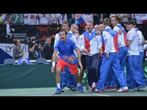 Stepanek v Almagro Czech Republic 3-2 Spain - Davis Cup Final Official Highlights