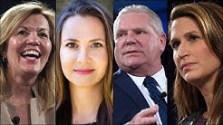 Ontario PC leadership debate in Ottawa.