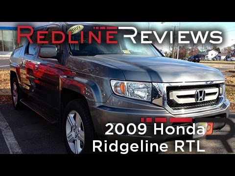 2009 Honda Ridgeline RTL Review, Walkaround, Exhaust, Test Drive