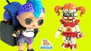 #ФНАФ! Куклы #Лол для мальчиков FNAF SISTER LOCATION Видео для детей! ИГРУШКИ НОВИНКИ