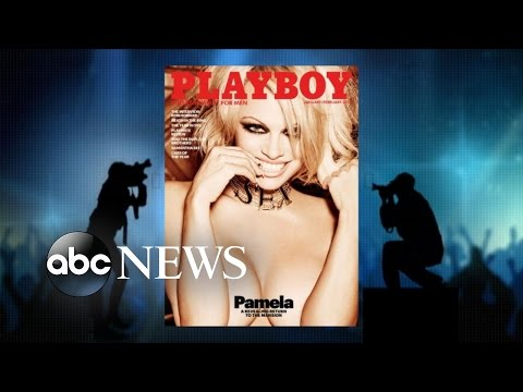 Pamela Anderson's Final Nude Cover Of Playboy