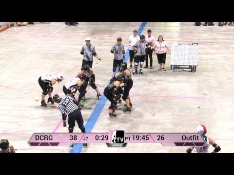 WFTDA Roller Derby: 2014 Division 2 Playoffs, Kitchener: DC Rollergirls vs. Chicago Outfit