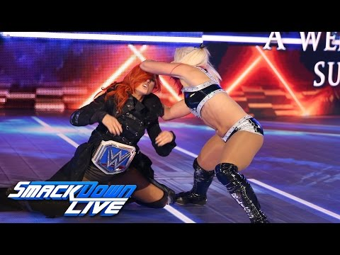 Alexa Bliss attacks Becky Lynch: SmackDown LIVE, Sept. 27, 2016