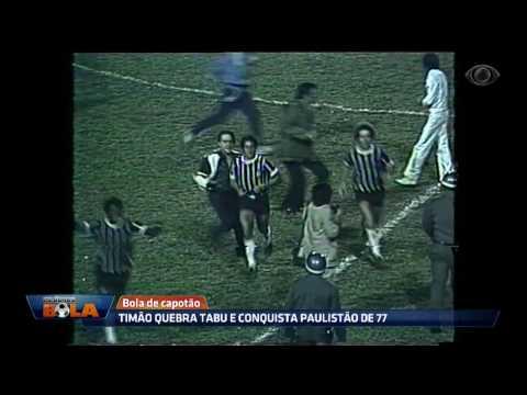 Timão Quebra Tabu E Conquista Paulistão De 77 Contra A Ponte