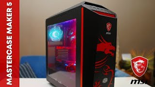 cooler Master Mastercase Maker 5 MSI Dragon Edition