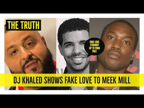 DJ Khaled TURNED HIS BACK to Meek Mill After Drake Problem, NOW He Wants to Work With Him FAKE LOVE