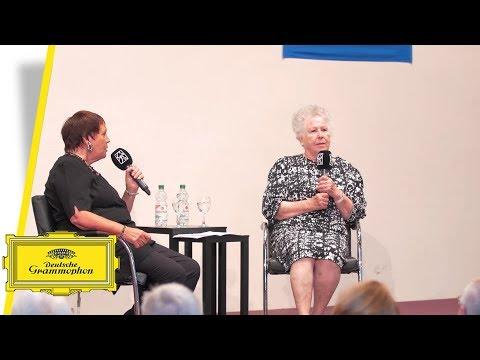 Gundula Janowitz - The role of Arabella by Richard Strauss 1/2 (Interview)