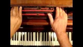 O Tannembaum, Volksweise en Pianola por Horacio Asborno desde Viedma (RN), Patagonia Argentina