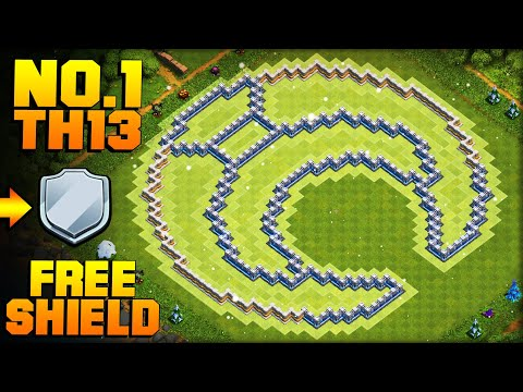 BEST TH13 FARMING BASE + PROOF! | Moon | CoC Town Hall 13 New Update Base | Clash Of Clans