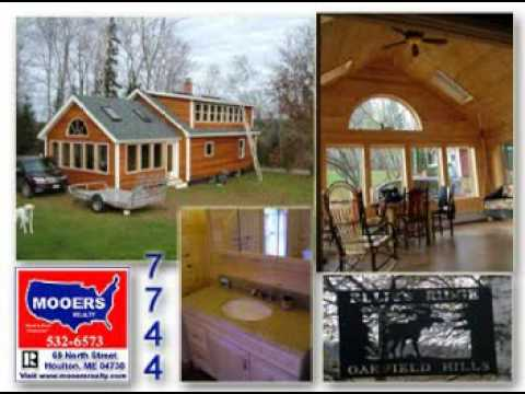 maine real estate oakfield cape home for sale no job