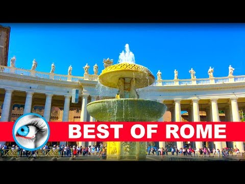 ROME - ITALY - BEST OF ROME 4K 2017 - TRAVEL GUIDE