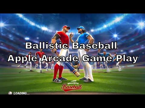 Ballistic Baseball Apple Arcade iOS Game Play