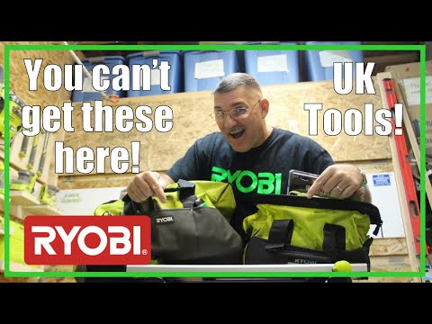 RYOBI Tools from the UK | UNBOXING and ASSEMBLY | 2019/46