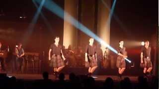 Braveheart, Irish Celtic, danseurs irlandais au Nautile à La Forêt Foursnant, 13-11-2011