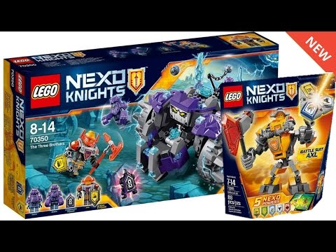 LEGO NEXO KNIGHTS WINTER 2017 SETS IMAGES! Battle Suits & New Powers!
