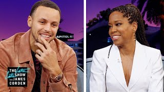 Regina King & Stephen Curry Acted in Fast Food Commercials