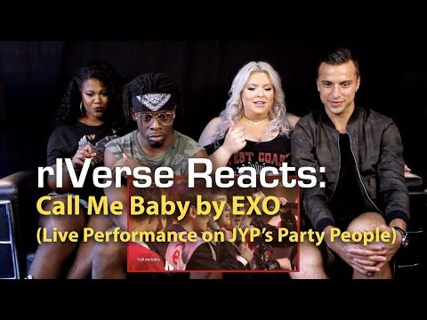 rIVerse Reacts: Call Me Baby by EXO -  Acoustic Performance on JYPs Party People Reaction