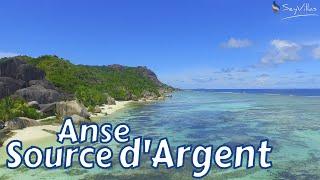 """Strand """"Anse Source d'Argent"""" auf La Digue (Seychellen)"""