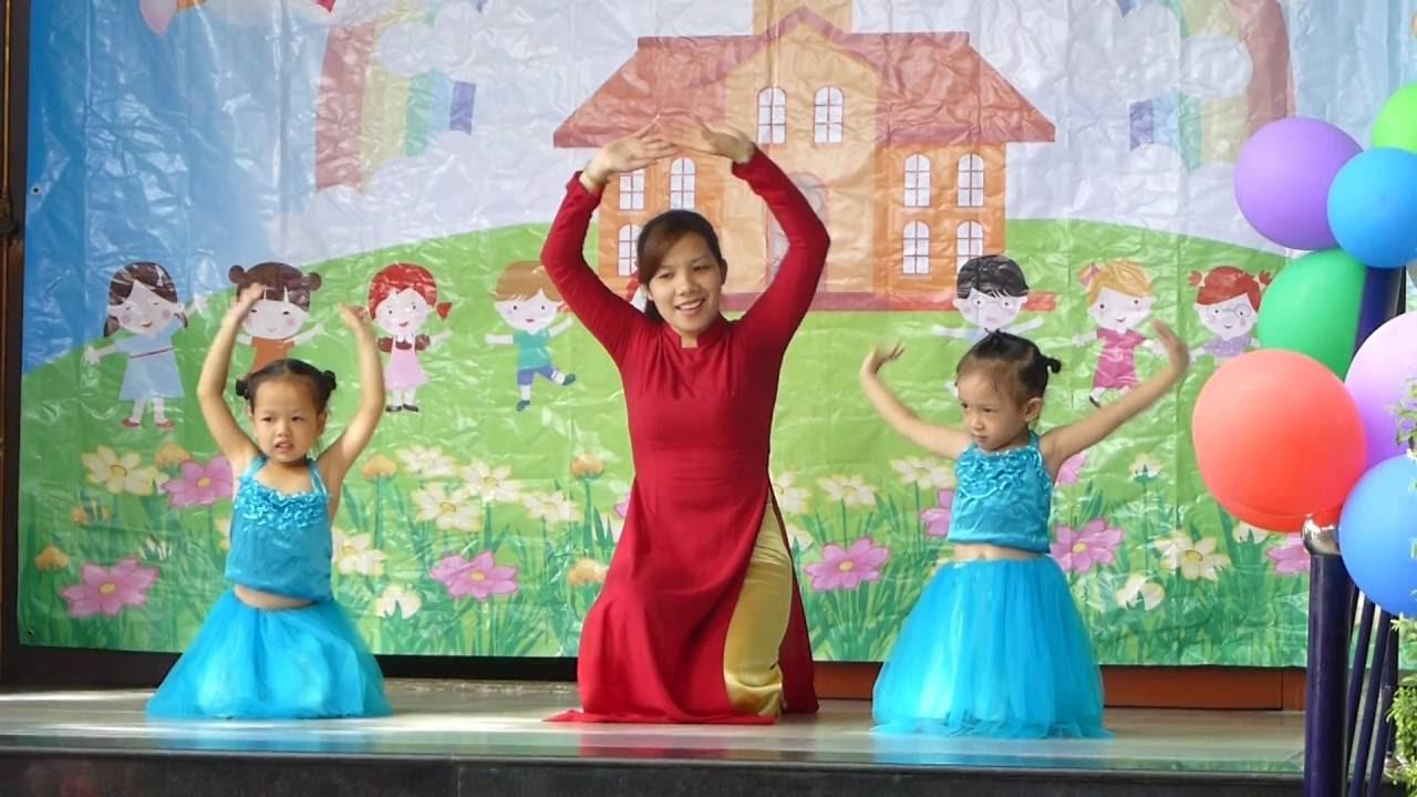 Múa NGÀY ĐẦU TIÊN ĐI HỌC Trường mầm non Hoa Hồng Đỏ