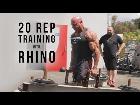20 Rep Training with Rhino | JTSstrength.com