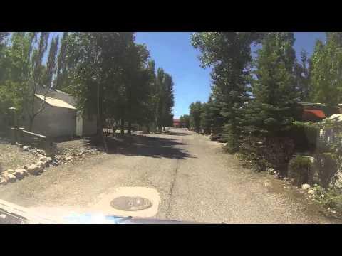 Cruising around the R.V. park, Star Valley Ranch Resort