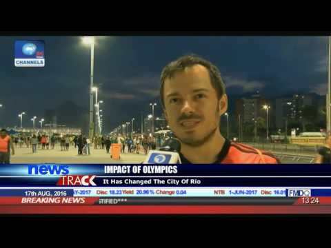 Channels Tv Correspondent With Update From 2016 Rio Olympics