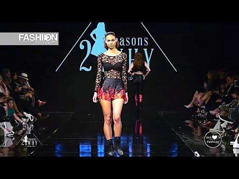 21 REASONS WHY by MADELINE STUART Los Angeles Fashion Week AHF FW 2017 2018 - Fashion Channel
