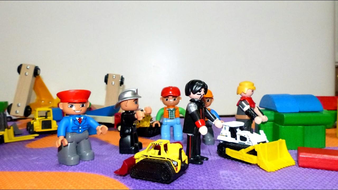 Carls stadt teil siku lego duplo spielzeug baustelle