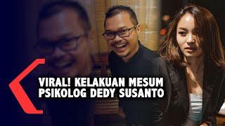 Viral Kelakuan Mesum Psikolog Dedy Susanto, Banyak yang Mengaku Korban...