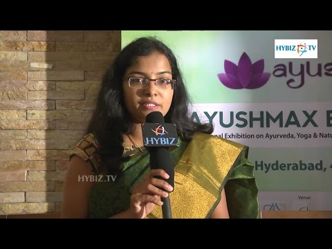 Deepthi Reddy Madugula Founder Women Energy - Ayushmax Expo 2016 - hybiz