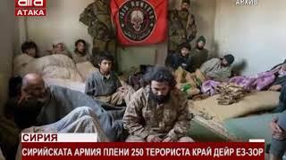 Сирия. Сирийската армия плени 250 терориста край Дейр ез-Зор /19.11.2017 г./
