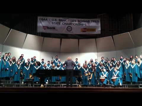 Papa Loko performed by Jesuit High School at OSAA Choir Competition 5-5-12