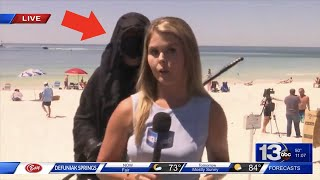 12 Scary Videos Caught on Live TV