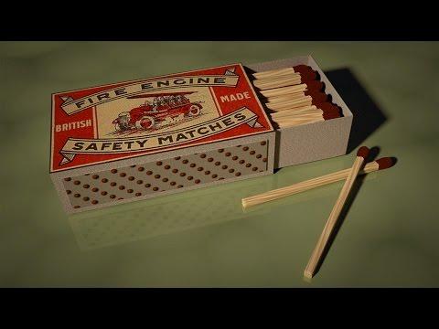 Blender - Match Box Still Life