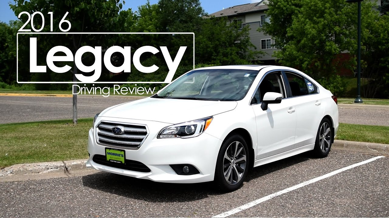 2016 Subaru Legacy Driving Review Test Drive Road