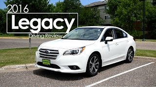 2016 Subaru Legacy Driving Review | Test Drive | Road Test
