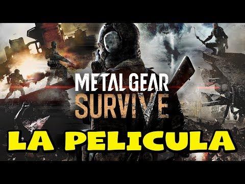 Metal Gear Survive - Pelicula Completa en Español 2018 - Todas las cinematicas - 1080p 60fps